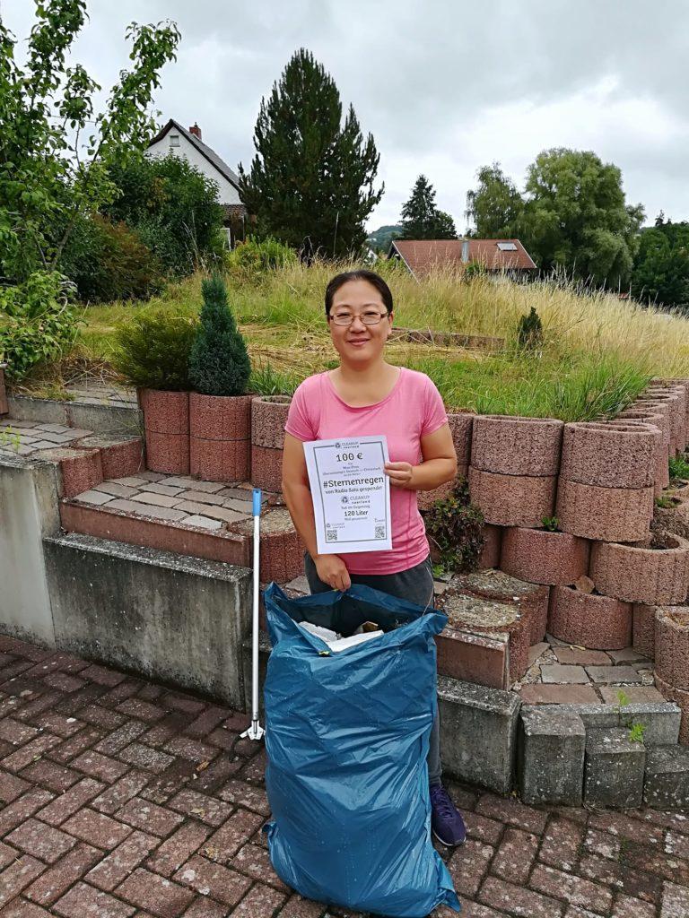 """Aktion """"Sternenregen"""" - Müll gegen Spende"""