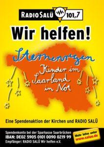 Aktion Sternenregen von Radio Salü